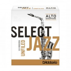 Cañas SELECT JAZZ para Saxo Alto Filed n° 3S x 1 (MC x 10)