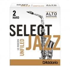 Cañas SELECT JAZZ para Saxo Alto Unfld n° 2H x 1 (MC x 10)