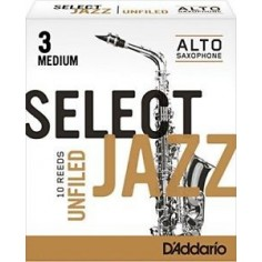Cañas SELECT JAZZ para Saxo Alto Unfld n° 3M x 1 (MC x 10)