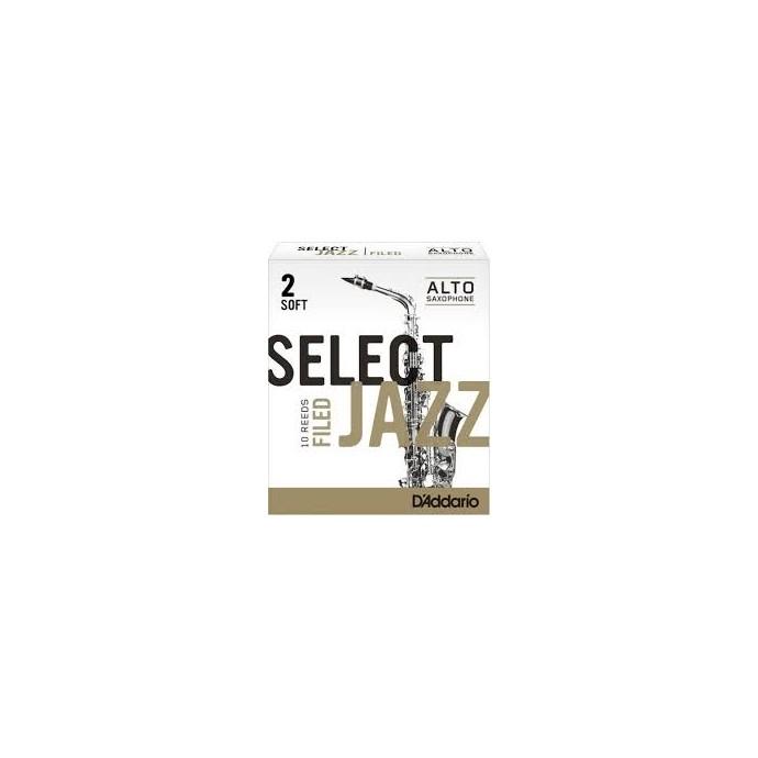 Cañas SELECT JAZZ para Saxo Alto Filed nº 2S x 1 (MC x 10)