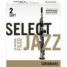 Cañas SELECT JAZZ para Saxo Soprano Filed nº 2S x 1 (MC x 1