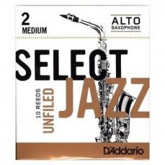 Cañas SELECT JAZZ para Saxo Alto Unfld nº 2M x 1 (MC x 10)