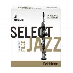 Cañas SELECT JAZZ para Saxo Soprano Unfld n° 3M x 1 (MC x 1