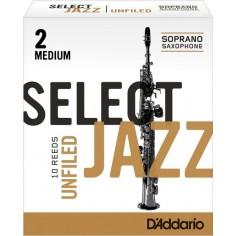 Cañas SELECT JAZZ para Saxo Soprano Unfld n° 2M x 1 (MC x 1