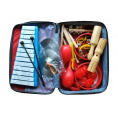 Set de percusión, 14 instrumentos