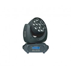 Movil Led, 180w, 15W (RGBW 4-in-1) 12 LEDs, Zoom7°;48°,