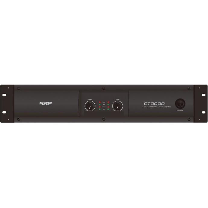 U de potencia estéreo, 250w x2 (4) 150w x2 (8) 500w (bridge)