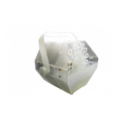 Maquina Burbujas, Trasparente, + Led RGB, 2x3w, 60w