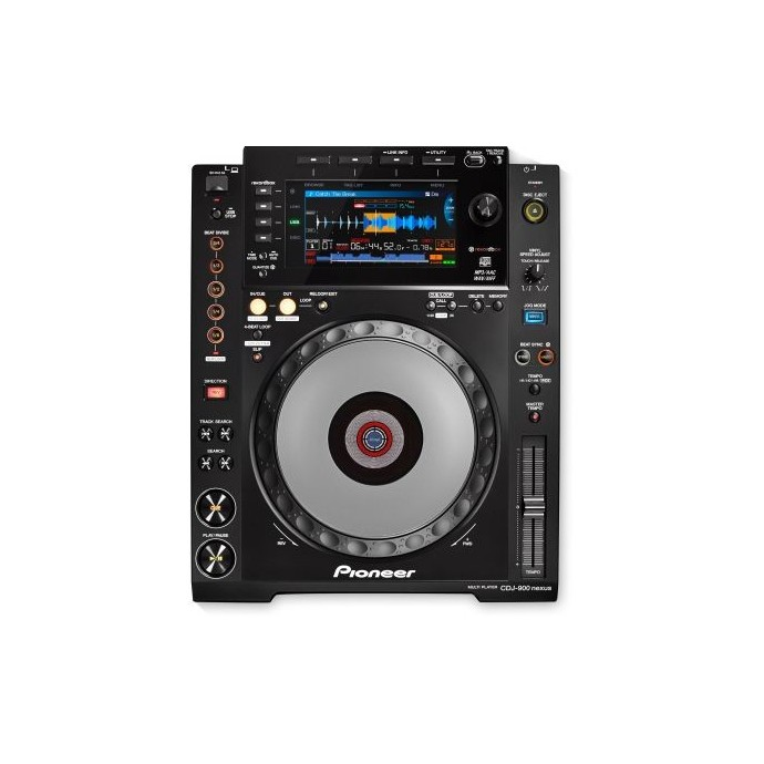 Reproductor Digital DJ Profesional, c/pantalla LCD color