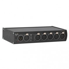 Splitter DMX 5.3, 3-pin XLR Input; Outputs DMX