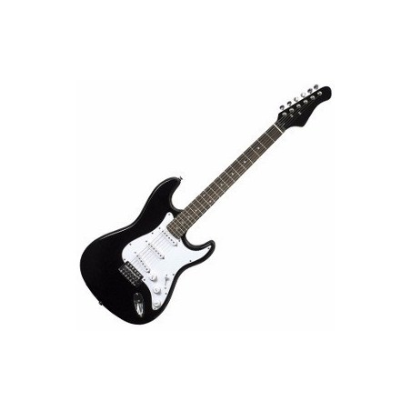 Guitarra electrica tipo STR, Black
