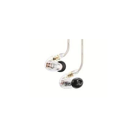 Shure SE315 Auricular Intraural Profesional 2 vias