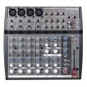 Mixer, 4XLR/linea +4st, Eq 3bd, Aux x canal,DSP 100ef + Tap Delay