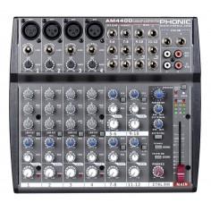 Mixer, 4XLR;linea +4st, Eq 3bd, Aux x canal,DSP 100ef + Tap