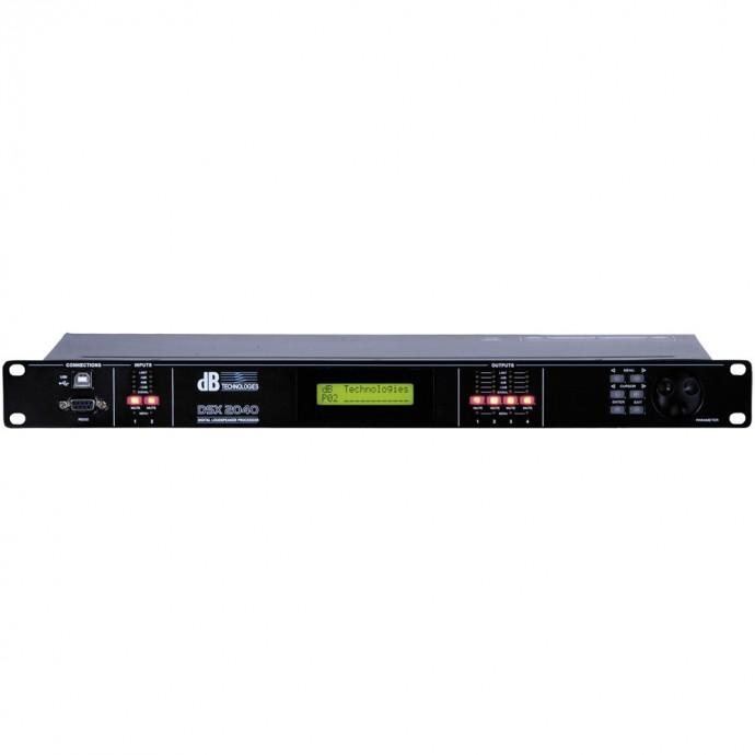 dB Technologies DSX 2040 Controlador digital 2x4