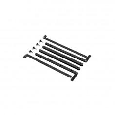 Kit para colgar sub, S10;S1518;S2585, 6 planchuelas + 4 Pin
