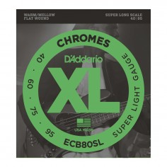 Enc. p; bajo, Chromes flat, Super Long scale, 0.40;0.95