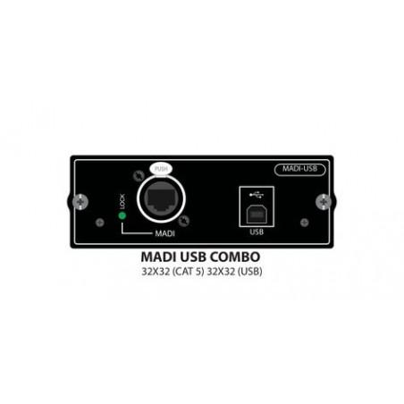 Tarjeta, SCR, SI MADI-USB, p;Mixer Soundcraft