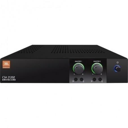 Potencia estéreo p;Instalacion; 2 x 120w; 70-100V; 2 x RJ45