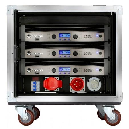 Rack c;Poten (3)IT12000HD+Distrib Tension+Network Sw+Panel