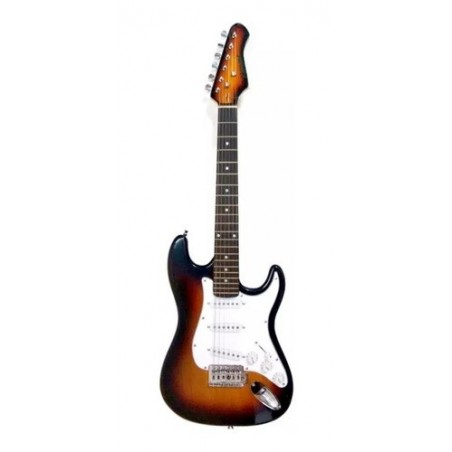 """ANDERSON"""" ELECTRIC GUITAR, SUNBURST WITH BROWN OUTLINE"""