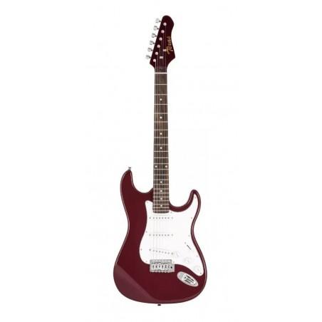 Guitarra electrica tipo STR, Wine Red