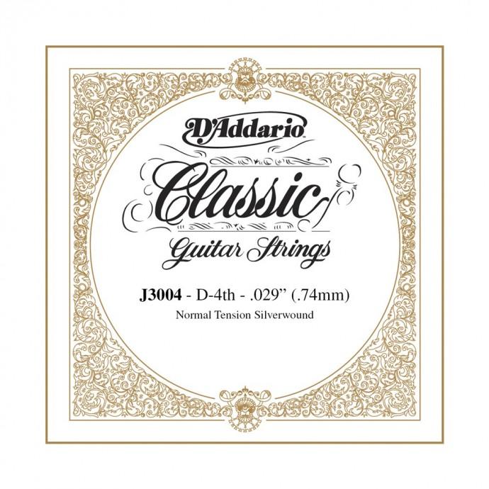 Cuerda Suelta, clásica (EJ29;30), 4ta, normal, plateada (MC