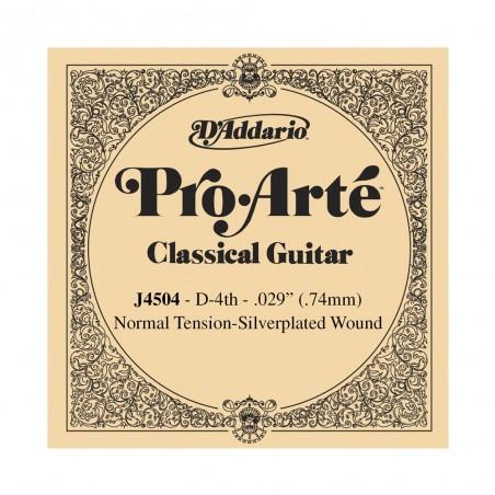 cuerda suelta p/Guit clásica J4504 nylon, tensión normal, 4ta cuerda