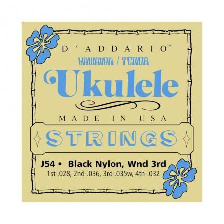 Encordado p/ukelele J54 tenor/hawaiano