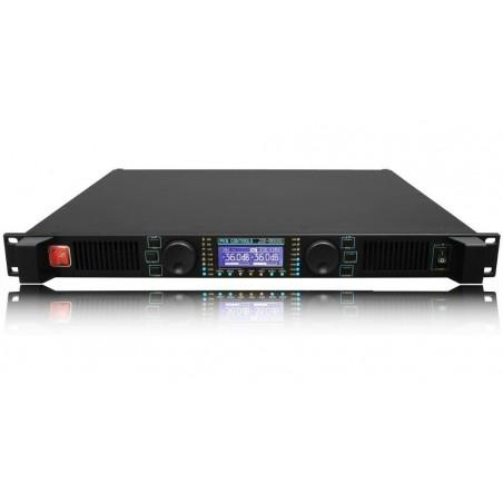 Potencia Digital, 2 x 700/8. 2 x1300/4, DF400, c/control Ethernet XE-2500