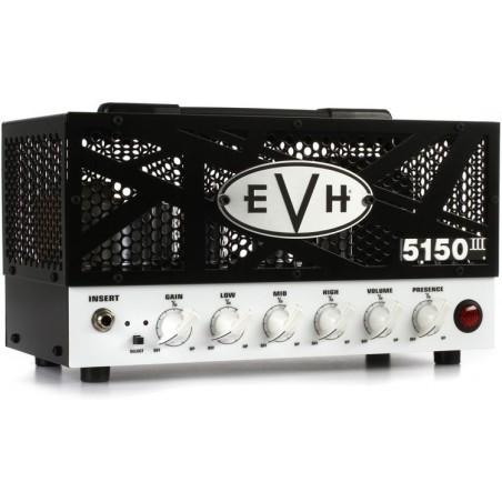 Cabezal | EVH5150 HEAD | valvular | 15 watts | 2 canales | switch para 3.5 Watts