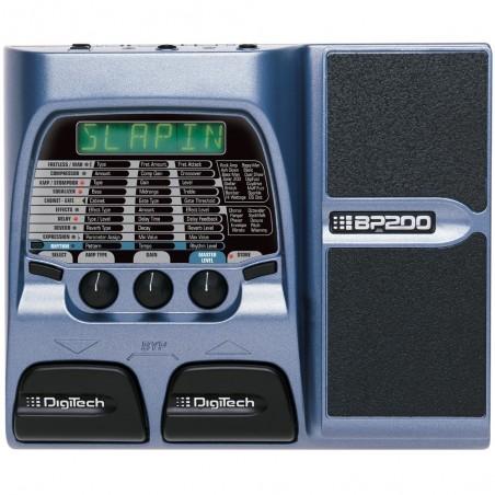 Digitech BP200 Pedalera para bajo