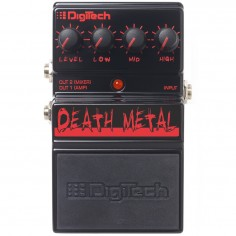 Digitech DDM DEATH METAL Pedal de Heavy Metal