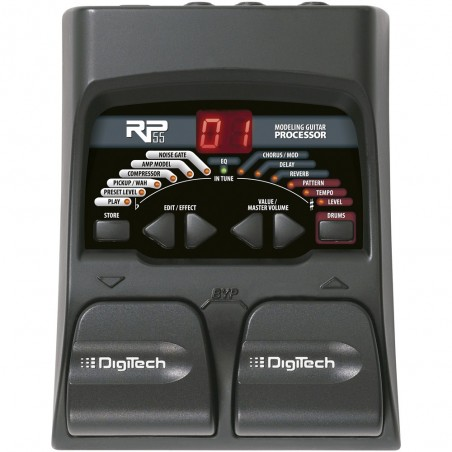 Digitech RP55 Pedalera multiefecto