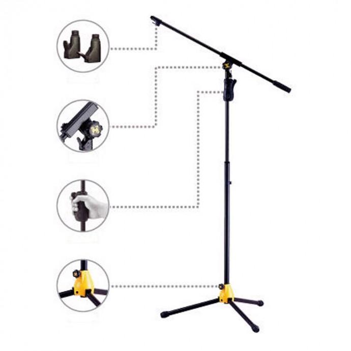 Hercules MS631B Soporte profesional de micrófono
