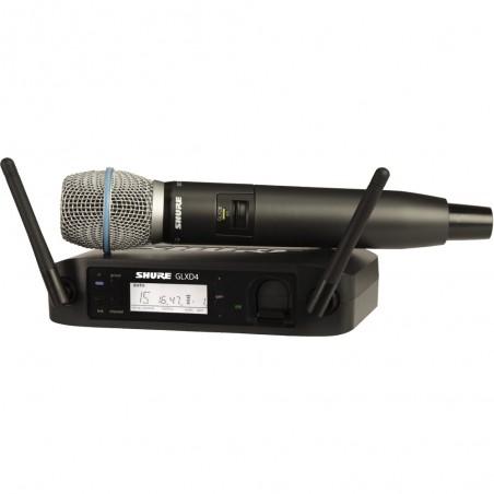 Sistema inalámbrico Digital GLXD de mano c/ beta 87.