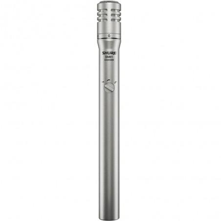 Micrófono Condenser Unidireccional SM81-LC