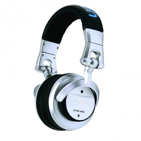 Stanton DJPRO3000 auriculares dj color silver.