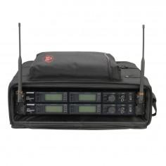 Skb 1SKB-SC192U rackera para audio portable con tapa con cierre.