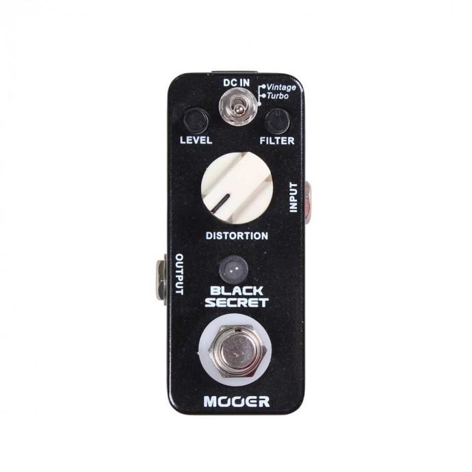 Micro pedal de efecto BLACK SECRET distorsión