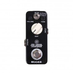 Micro Pedal de efecto p;guit, t: metal distortion, Lo Boost