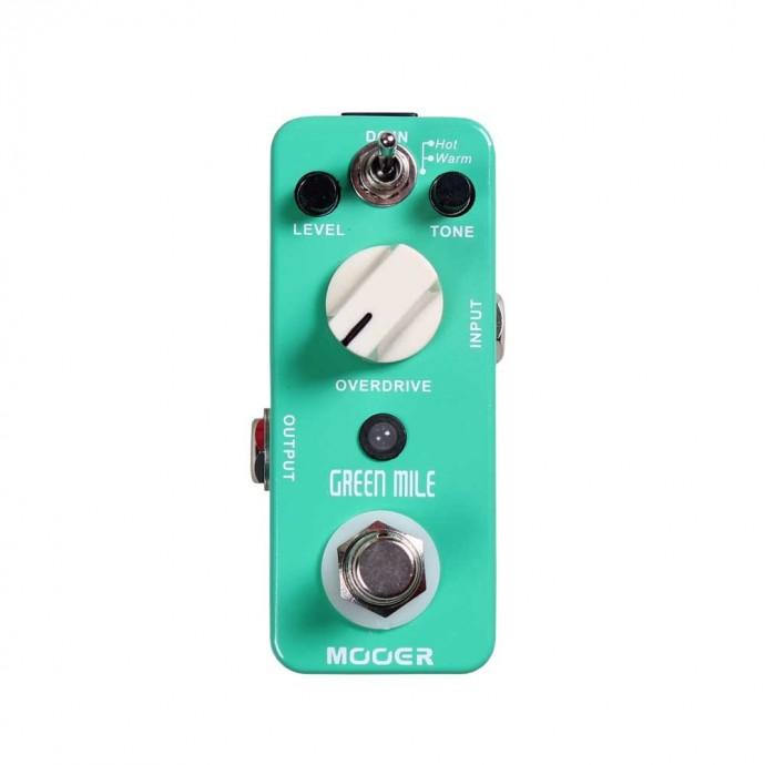 Micro Pedal de efecto p;guit, t: overdrive, Warm;Hot, true-