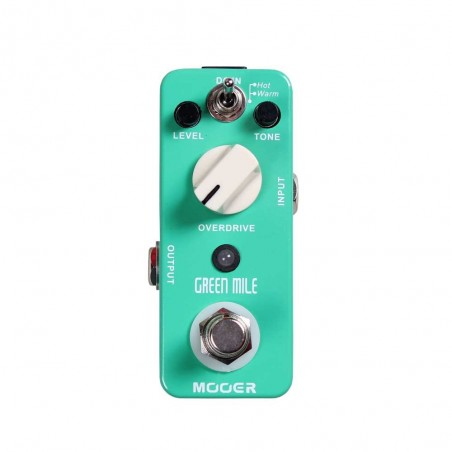 Micro Pedal de efecto p;guit, t: overdrive, Warm;Hot, true-