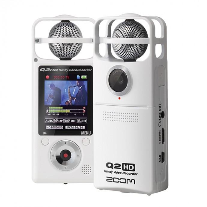 Zoom Q2HD/W Grabador de video en HD
