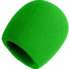 Paraviento para Microfono, SM58, Verde