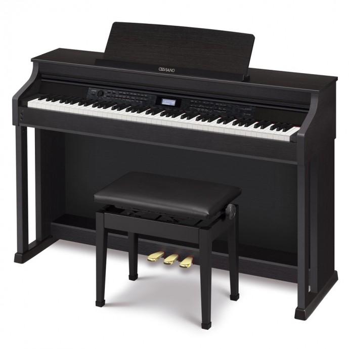 Piano dig. CELVIANO, 88t, acc.;martillo, 256p, 250s, 180r,