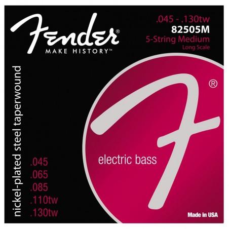 Encordado p/Bajo eléctrico 82505M 5 cuerdas 045-130 TW