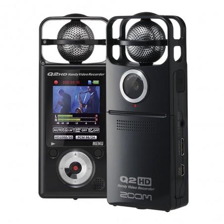 Zoom Q2HD/B Grabador de video en HD