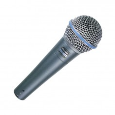 Micrófono dinámico vocal BETA58A