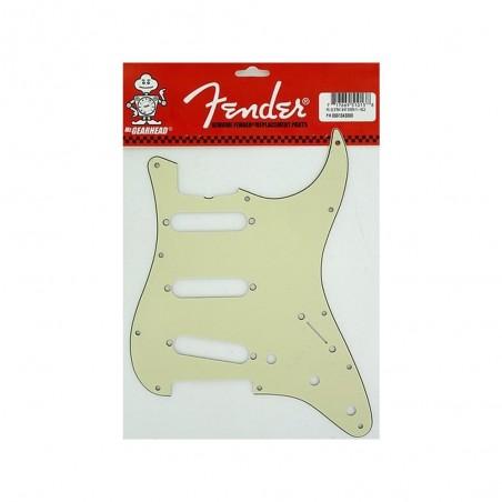 Fender Pickguard Stratocaster Vintage 11 agujeros, Mint Green